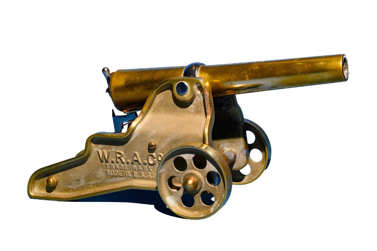 10 gauge small cannon white